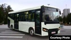 СамАвто заводида ишлаб чиқарилаётган LE 60 автобуси (СамАвто сайтидан олинган сурат).