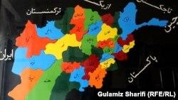 د افغانستان نقشه