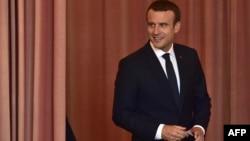 Francuski predsednik Emanuel Makron