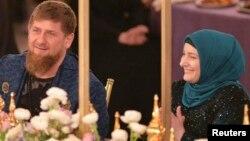 Рамзан Кадыров со своей супругой Медни (архивное фото)
