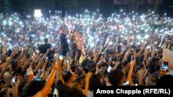Tbilisidə etiraz aksiyası , 22 iyun, 2019