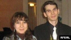 Эльмира Муллабакиева белән Альберт Әхмәтов
