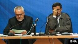 محمود احمدینژاد و محمدرضا رحیمی