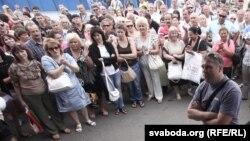 Аляксандар Таўстыка на «Ждановічах»