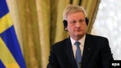 Karl Bilt, šev švedske diplomatije