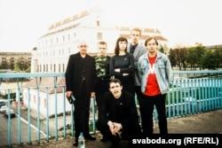 Маладафронтаўцы ў пачатку 2000-х гадоў. Фота з архіву Аляксея Янукевіча