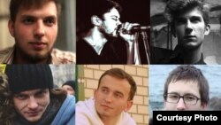Затримані студенти університету імені Карпенка-Карого (фотоколаж корустувача Anisia у соцмережі «Вконтакте»)