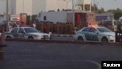 ارشیف، تصویر از موترهای پولیس عربستان سعودی