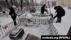 Талака на Кальварыйскіх могілках
