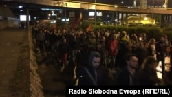 Protesti u Skoplju 25. aprila