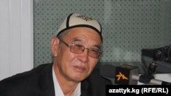 Кыргыз эл акыны Эгемберди Эрматов.