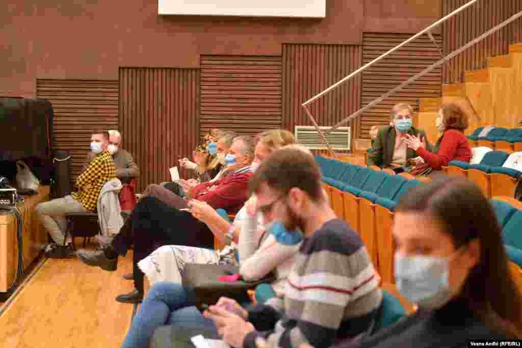 Koncert je održan uz poštovanje epidemioloških mera.