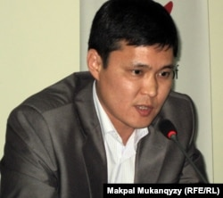 Талғат Мамырайымов, саясаттанушы. Алматы, 2 маусым 2011 жыл.