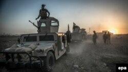 Іракські сили під час операції з відновлення контролю над Мосулом, 14 серпня 2016 року