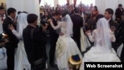 Свадьбы в рамках благотворительной акции Гульнары Каримовой.