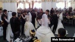 Свадба во Узбекистан, организирана од Гулнара Каримова.