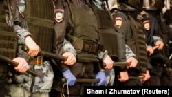 Сотрудники московской полиции. Иллюстративное фото.