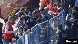 Migranti, Turska