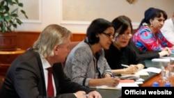 Делегация МВФ в Нацбанке Таджикистана. Иллюстративное фото.