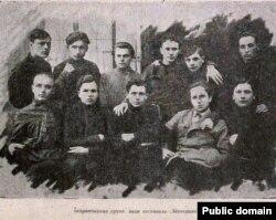 Ініцыятыўная група, якая заснавала «Маладняк». «Маладняк». 1925, № 6