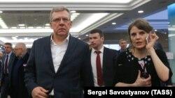 Председатель КГИ, зампред Экономического совета при президенте РФ Алексей Кудрин на IV Общероссийском гражданском форуме