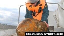 De la un război la altul: bombă din al Doilea Război Mondial descoperită în Sevastopol.