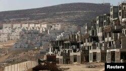 Ілюстраційне фото: будівництво в поселенні Ґіват-Зеєв біля Єрусалима, 17 жовтня 2013 року