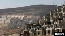 نمایی از یک شهرک یهودینشین در کرانه باختری