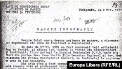 Din dosarul deportărilor în Bărăgan