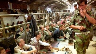 Pripadnici Vojske Republike Srpske su zlostavljali i tjelesno ozljeđivali ratne zarobljenike logora Manjača (na fotografiji)