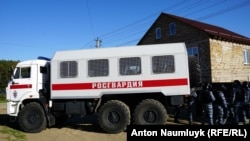Обыск в Крыму. Иллюстрационное фото