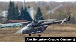Ми-8 вертолёти.