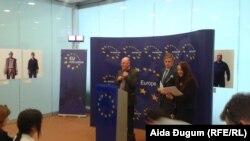 EUROSTAT direktor Peter Everares u posjeti BiH, Sarajevo, 26. maja 2016.