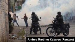 درگیریها در شهر مرزی یورنیا، در مجاورت کلمبیا