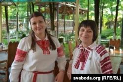 Беларусы ў Цхалтуба: Вольга Пархімовіч і Эліна Сьвірыдовіч