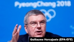 IOC President Thomas Bach (file photo)