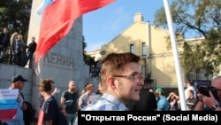 Активист штаба Алексея Навального во Владивостоке Дмитрий Гультяев
