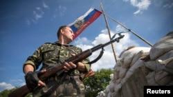 Pikë kontrolli e separatistëve pro-rusë