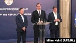 Lagali su mediji da je nađena krv, a sat koji je ostavljen deluje da ne pripada Cvetkoviću: Aleksandar Vučić