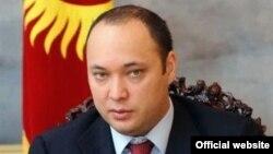 Gyrgyzystanyň ozalky prezidenti Kurmanbek Bakyýewiň kiçi ogly Maksim Bakyýew.