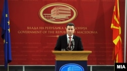 Kryeministri i Maqedonisë, Nikolla Gruevski.