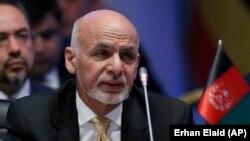 FILE: Afghan President Ashraf Ghani