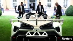Lamborghini Veneno Roadster на аукционе в Швейцарии, 27 сентября 2019 г.