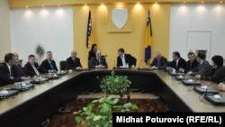 Vlada Federacije BiH, inauguracijska sjednica, mart 2011.