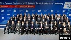 G20. Moskë, 16 shkurt 2013.