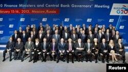 Министрите за финансии на земјите членки на Г20