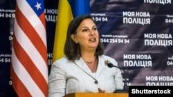 Заступник держсекретаря США Вікторія Нуланд. Київ, 16 травня 2015 року