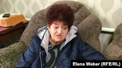 Жительница Темиртау Елизавета Шутова. Карагандинская область, 16 ноября 2019 года.
