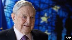 George Soros, foto nga arkivi.