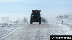 Ձնամաքրման աշխատանքներ Հայաստանի ավտոճանապարհներից մեկին, արխիվ